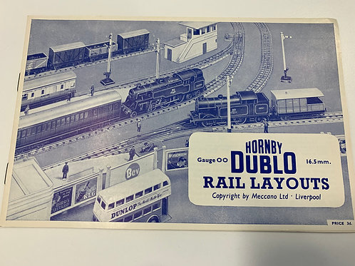 HORNBY DUBLO - RAIL LAYOUTS