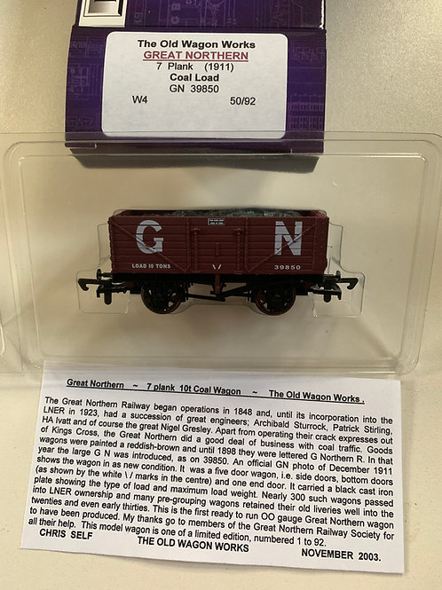 7 PLANK WAGON GREAT NORTHERN - LIMITED EDITION