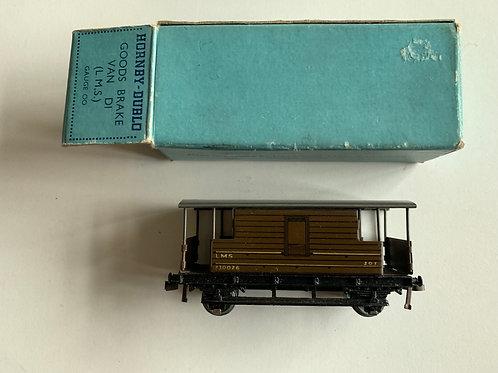 32045 D1 GOODS BRAKE VAN L.M.S. BOXED 5/1948