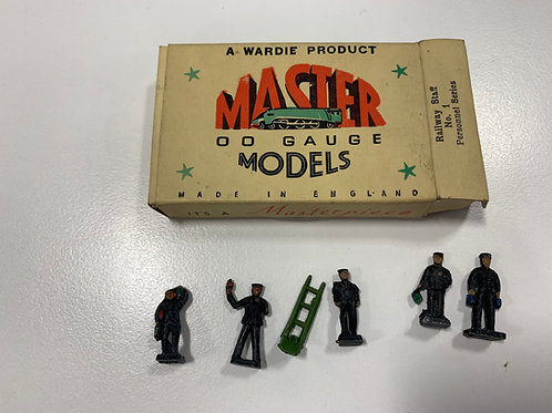 WARDIE MASTER MODELS No 1 RAILWAY STAFF
