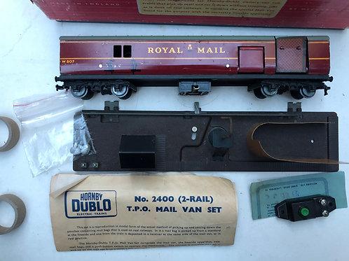 2400 T.P.O. MAIL VAN SET 2-RAIL
