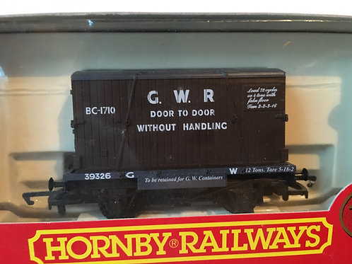 R.6014 GWR CONTAINER AND CONFLAT