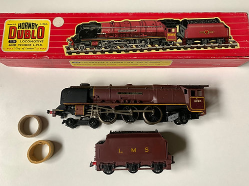 2226 LMS CITY OF LONDON LOCOMOTIVE AND TENDER BOXED