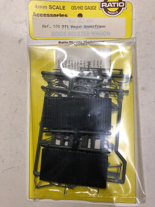 RATIO 570 9FT WAGON UNDERFRAME KIT