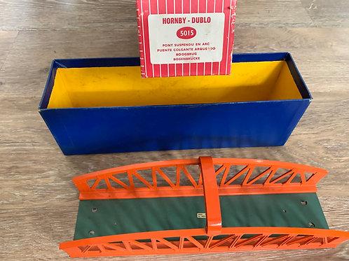 5015 GIRDER BRIDGE (METAL) - BOXED (RARE RED BOX)
