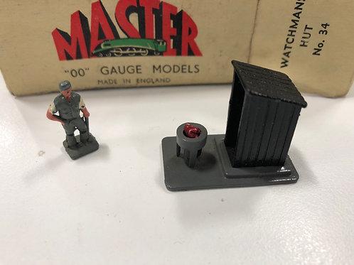 WARDIE MASTER MODELS DIE CAST WATCHMAN'S HUT