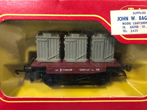 R.340 THREE CONTAINERS WAGON