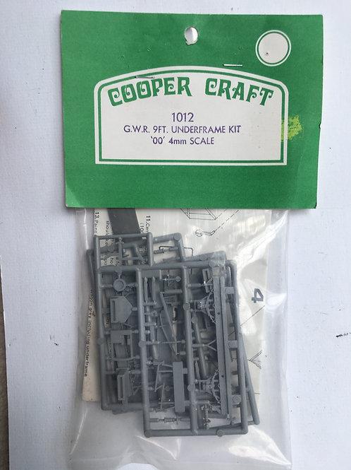 COOPER CRAFT 1012 G.W.R. 9FT UNDERFRAME KIT