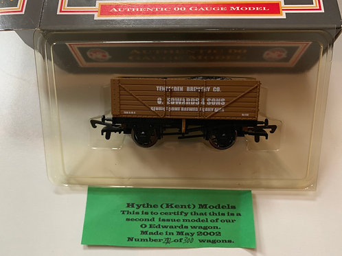 7 PLANK WAGON O EDWARDS & SONS - LIMITED EDITION