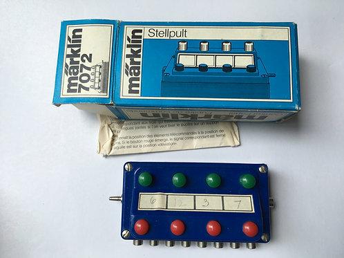 MARKLIN 7072 CONTROL PLATE