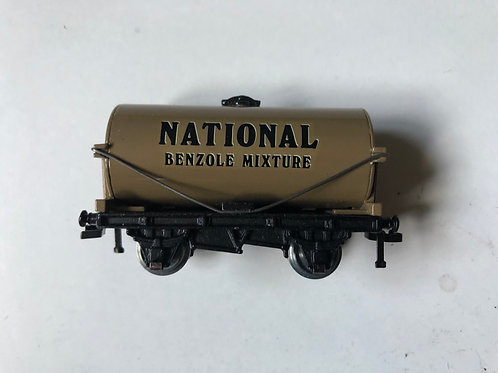 NATIONAL BENZOLE TANKER WAGON - 3 RAIL