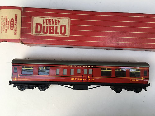 4049 COMPOSITE RESTAURANT CAR MAROON W9566W - THE FLYING SCOTSMAN HEADBOARDS