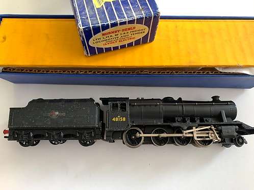 2-RAIL LT25 L.M.R. CLASS 8F BR BLACK 2-8-0 LOCOMOTIVE 48158 BOXED