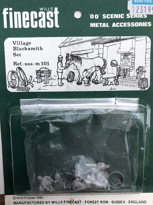 WILLS FINECAST - SSA M101 VILLAGE BLACKSMITH SET