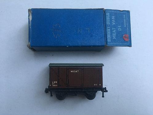 32065 MEAT VAN D1 (L.M.S.) N19631 BOXED 10/1951
