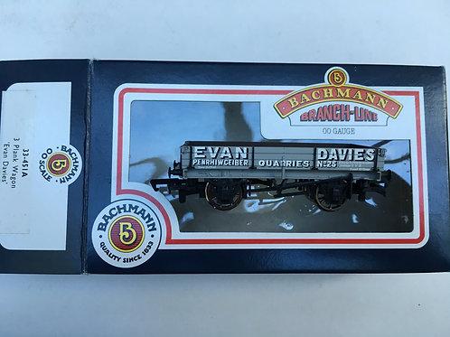 33-451A 3 PLANK WAGON EVAN DAVIES