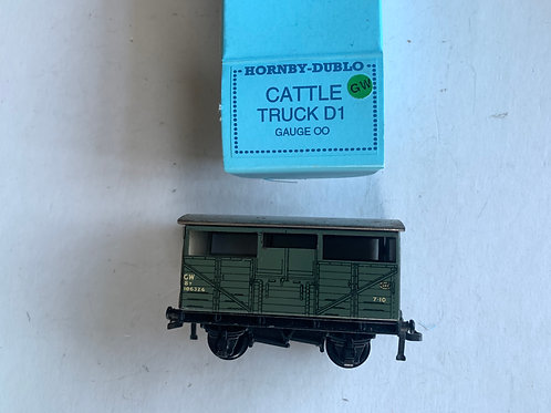 32020 GWR D1 CATTLE TRUCK 106324 - REPRO BOX
