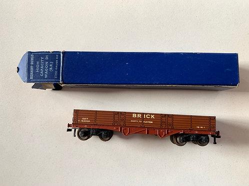 32050 D1 HIGH CAPACITY BRICK WAGON RED BOXED 4/1953