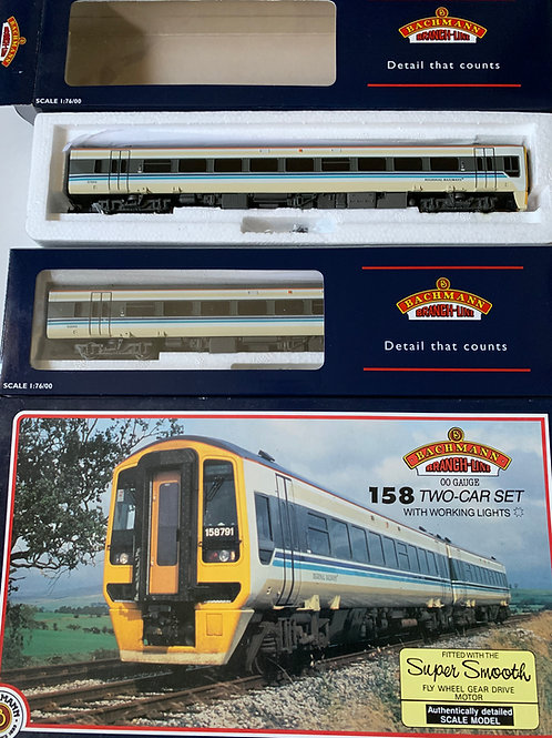 31-500B 158 2 CAR DMU SET - 'REGIONAL RAILWAYS'