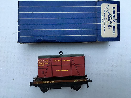 32087 FLAT BED WAGON WITH FURNITURE LOAD - BOXED