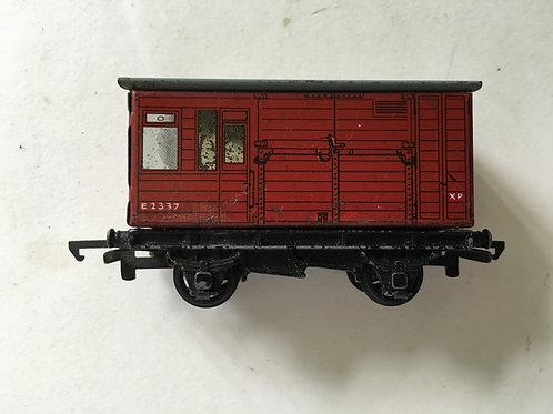 TIN HORSE BOX E2337 (2 OR 3 RAIL) - USED