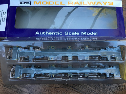 RAIL EXPRESS LTD EDITION FEA-B FASTLINE FREIGHT TWIN CONTAINER 643023 & 643024