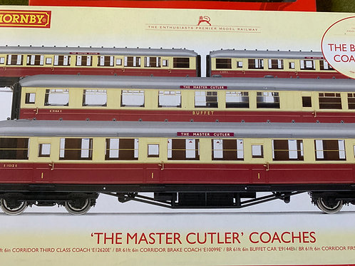 R.4255 BR THE MASTER CUTLER 4 CAR COACH SET