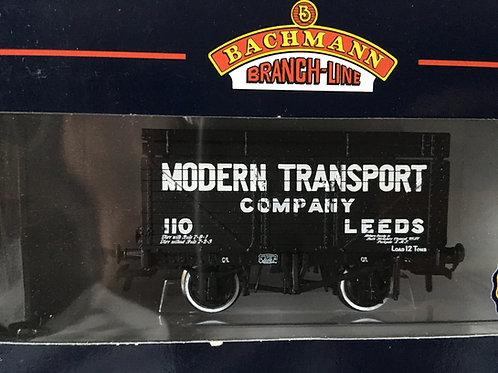 37-204 8 PLANK WAGON COKE RAIL MODERN TRANSPORT CO LEEDS