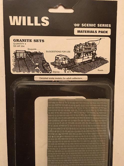 WILLS - SS MP 204 GRANITE SETS