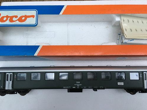 ROCO 44485 2ND CLASS PASSENGER COACH O.B.B.