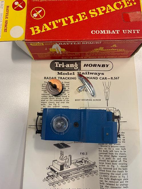 R.567 BATTLE SPACE - RADAR TRACKING COMMAND CAR