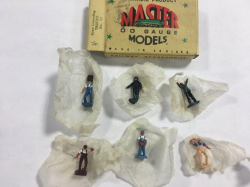 WARDIE MASTER MODELS 57 CREWE UNLOADING TRUCKS