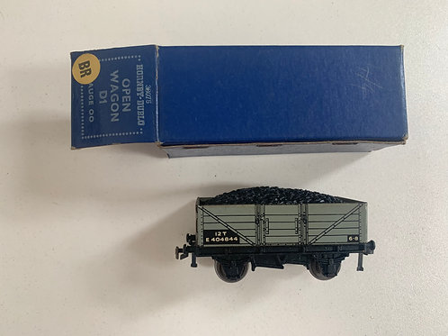 32075 OPEN WAGON WITH COAL LOAD D1 (BR) 10/52 BOXED