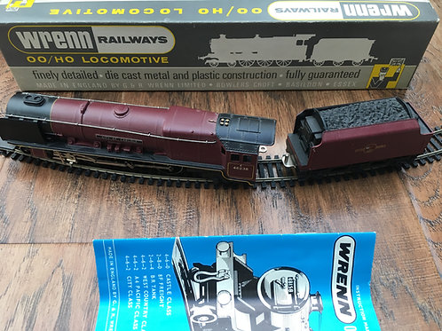 W2226/A 4-6-2 8P MAROON CITY OF CARLISLE LOCO - BOXED