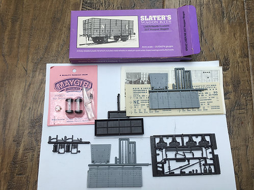 SLATERS WAGON KIT 4P042 LNER/NORTH EASTERN 20T HOPPER WAGON