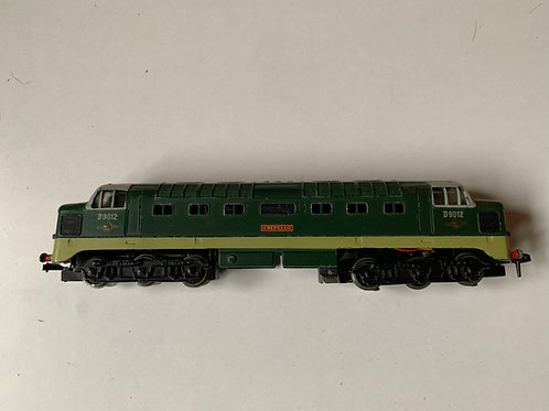 2234 CREPELLO DELTIC DIESEL ELECTRIC LOCOMOTIVE D9012 - 3-RAIL