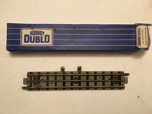 32205 EDBT1&1/2 TERMINAL RAIL 1/2 HALF STRAIGHT