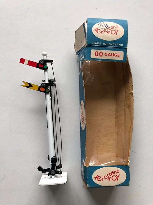 CRESCENT DOUBLE ARM SIGNAL - BOXED