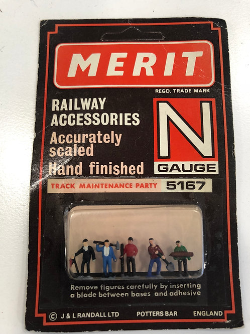 MERIT N GAUGE - 5167 TRACK MAINTENANCE PARTY