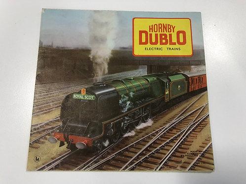 HORNBY DUBLO - ELECTRIC TRAINS - CATALOGUE 1958