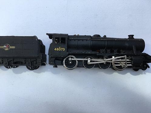 2224 2-RAIL BR BLACK CLASS 8F LOCOMOTIVE 48073 & TENDER
