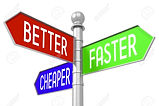 84197370-3d-signpost-better-faster-cheap