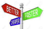 84197370-3d-signpost-better-faster-cheap