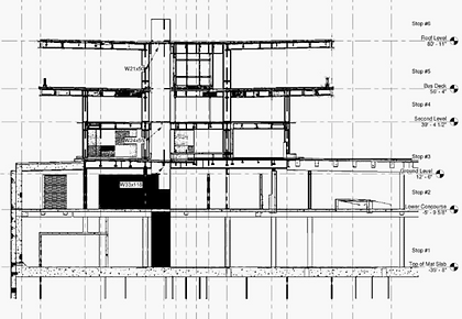 main drawing of service and products C.p