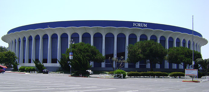 Forum Renovation; Inglewood, CA