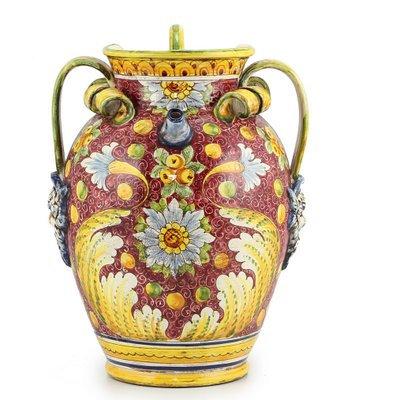 Large pitcher with 3 handles cm 40 H cm 45
