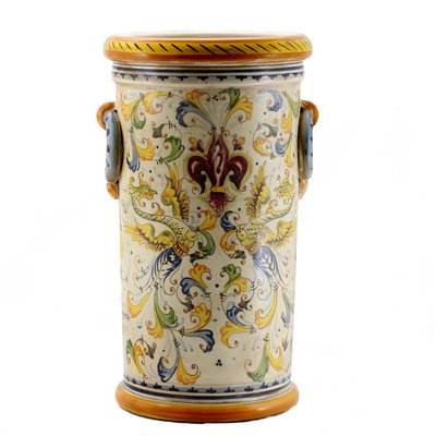 Umbrella stand with rings H cm 50