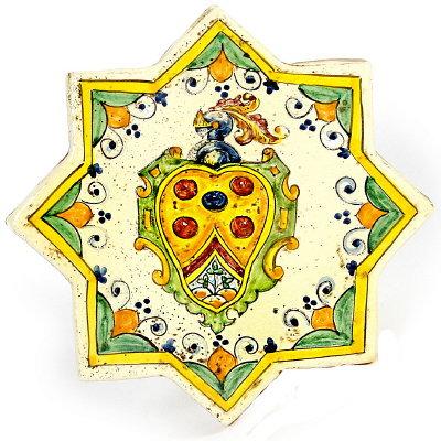 Star shaped tile cm 22