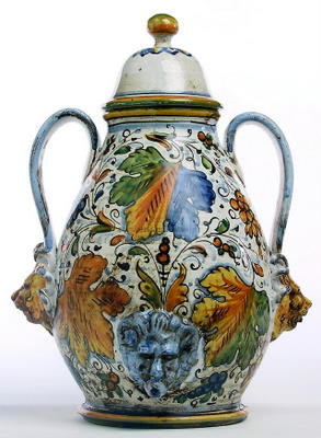 Small anphorae vase with hanldes cm 25 H cm 38