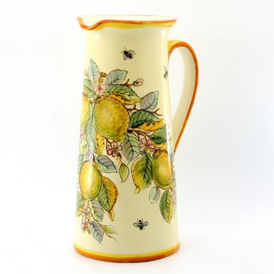 Tall jug with handle H cm 25